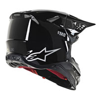 Casco Cross Alpinestars S-m8 Nero