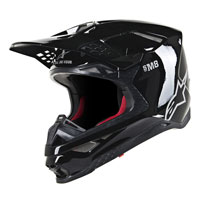 Off Road Helmet Alpinestars S-m8 Black