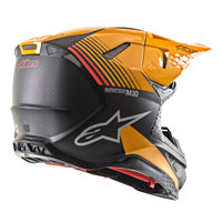 Alpinestars Supertech S-m10 Dyno Helmet Orange