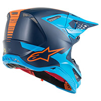 Alpinestars Supertech S-m10 Meta Noir Aqua Orange
