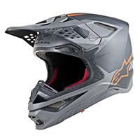 Alpinestars Supertech S-m10 Meta Gris Orange