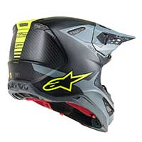 Alpinestars Supertech S-m10 Meta Black Gray Yellow Fluo