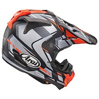 Arai Mx-v Bogle Red