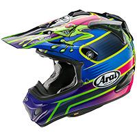 新井MX Vバルシアカエルヘルメット