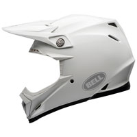 Casco Cross Bell Moto 9 Flex Carbon Bianco