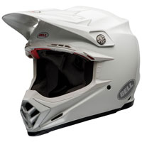 Off Road Helmet Bell Moto 9 Flex Carbon White