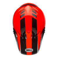 Casco Cross Bell Moto 9 Mips Dash Arancio