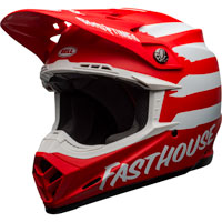 Casco Bell Moto 9 Mips Fasthouse Signia Matt Red