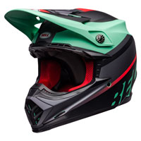 Casco Cross Bell Moto 9 Mips Prophecy Verde
