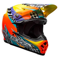 Casco Cross Bell Moto 9 Mips Tagger Breakout