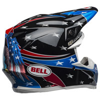 Casco Cross Bell Moto 9 Mips Tomac Replica Eagle - 2