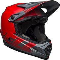 Bell Moto 9 Mips Youth Louver Helmet Red Grey Kid