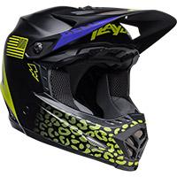 Bell Moto-9 Youth Mips Slayco Helmet Black Matt Yellow - 2