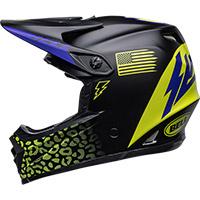Bell Moto-9 Youth Mips Slayco Helmet Black Matt Yellow - 3