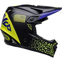 Bell Moto-9 Youth Mips Slayco Helmet Black Matt Yellow - 4