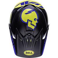 Bell Moto-9 Youth Mips Slayco Helmet Black Matt Yellow - 5