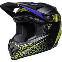 Bell Moto-9 Youth Mips Slayco Helmet Black Matt Yellow
