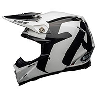 Casco Bell Moto 9 Flex Fasthouse Newhall Bianco - 3