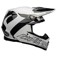 Casco Bell Moto 9 Flex Fasthouse Newhall Bianco - 4