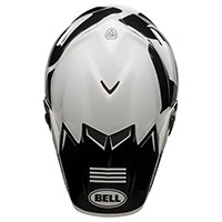 Casco Bell Moto 9 Flex Fasthouse Newhall Bianco - 5