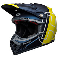 Bell Moto 9 Flex Husqvarna Gotland Helmet Yellow