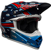 Casco Bell Moto 9 Flex McGrath Replica azul rojo
