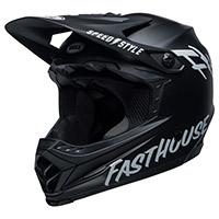 Bell Moto 9 Youth Helmet Mips Fasthouse Black Kinder
