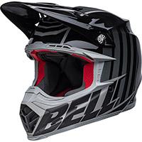 Casco Bell Moto-9s Flex Sprint Nero Grigio