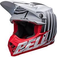 Casco Bell Moto-9s Flex Sprint Bianco Rosso