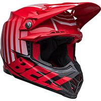 Casco Bell Moto-9s Flex Sprint Rosso Nero