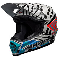 Casque Enfant Bell Moto 9 Mips Tagger Check Me Out