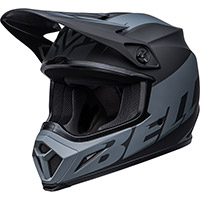 Casco Bell Mx 9 Mips Disrupt Nero Opaco Charcoal