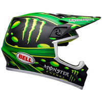Casque Moto Cross Bell Mx 9 Mcgrath Showtime Replica