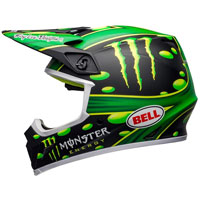 Casco Cross Bell Mx 9 Mcgrath Showtime Replica