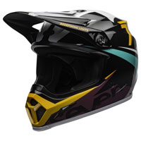 Off Road Helmet Bell Mx 9 Mips Seven Ignite Yellow