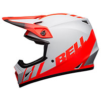 Bell Mx 9 Mips Dash Helmet Grey Infrared Black