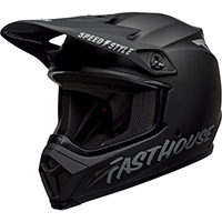 Bell Mx 9 Mips Fasthouse Helmet Black Matt Grey