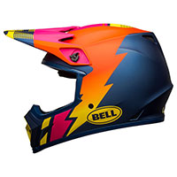 Bell Mx 9 Mips Strike Helmet Blue Orange Pink