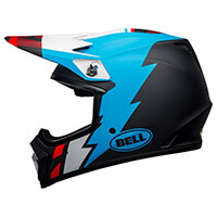 Bell Mx 9 Mips Strike Helmet Black Blue White