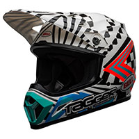 Casco Bell Mx 9 Mips Tagger Check Me Out Bianco