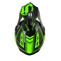 Just-1 J12  Carbon Fluo Green