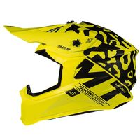 Mt Helmets Falcon Karson F2 Matt Yellow