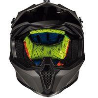 Mt Helmets Falcon Karson F0 negro mate