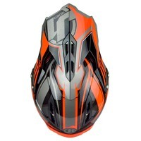 Just-1 J12 Flame Nero Arancio