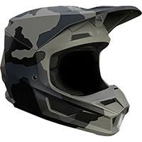 Fox V1 Trev Helmet Black Camo