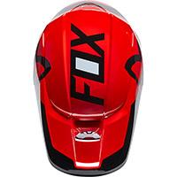 Casco Fox V1 Lux Rosso Fluo - 4