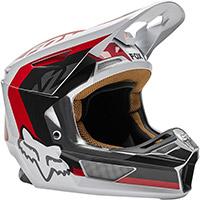 Fox V2 Paddox Helmet Red Black White