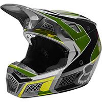 Fox V3 Rs Mirer Helmet Fluo Yellow