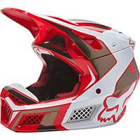 Fox V3 Rs Mirer Helmet Red Fluo