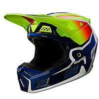 Casque Fox V3 Rs Wired Jaune Fluo